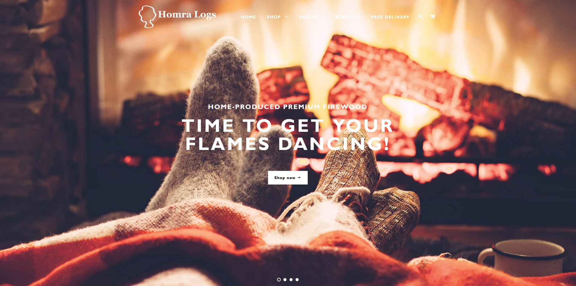 Homra Logs Website