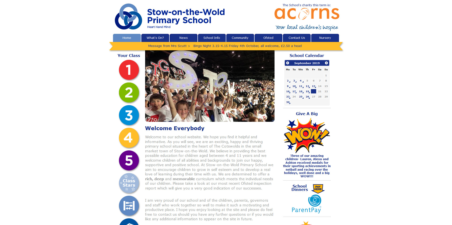 Stow Primary School Website