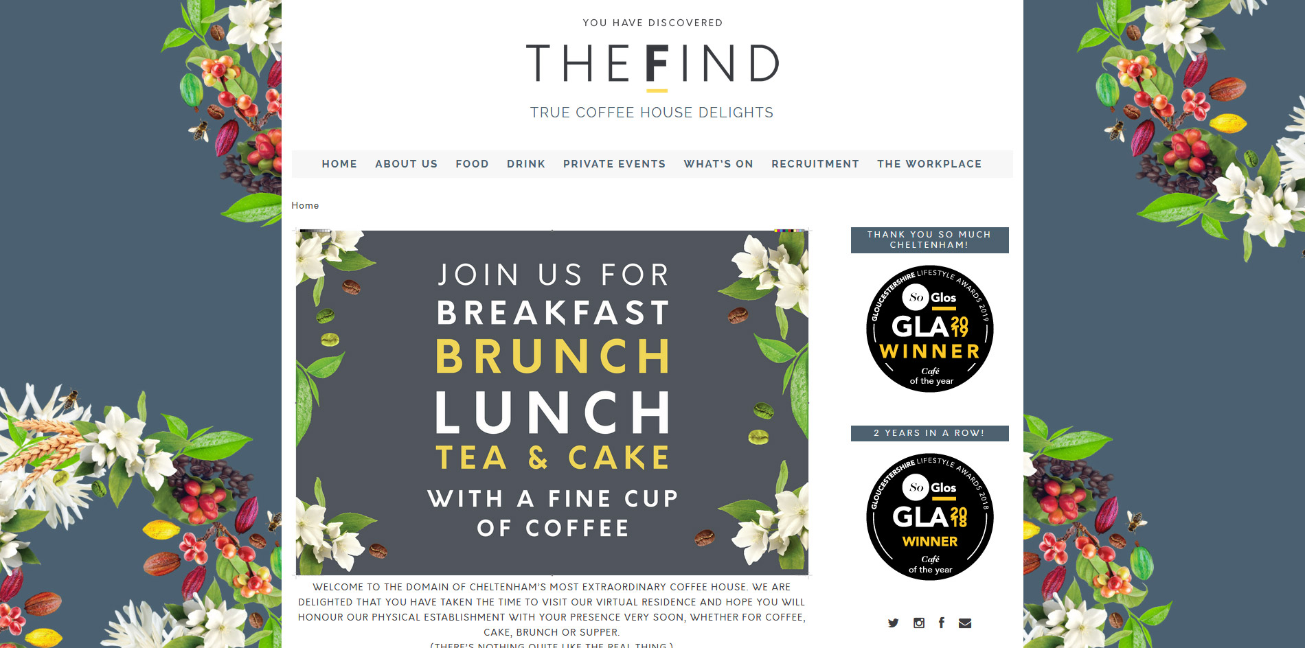 The FIND Website
