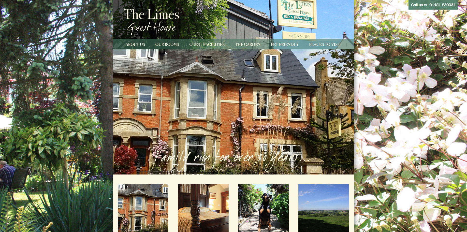 The Lime Guest House Website