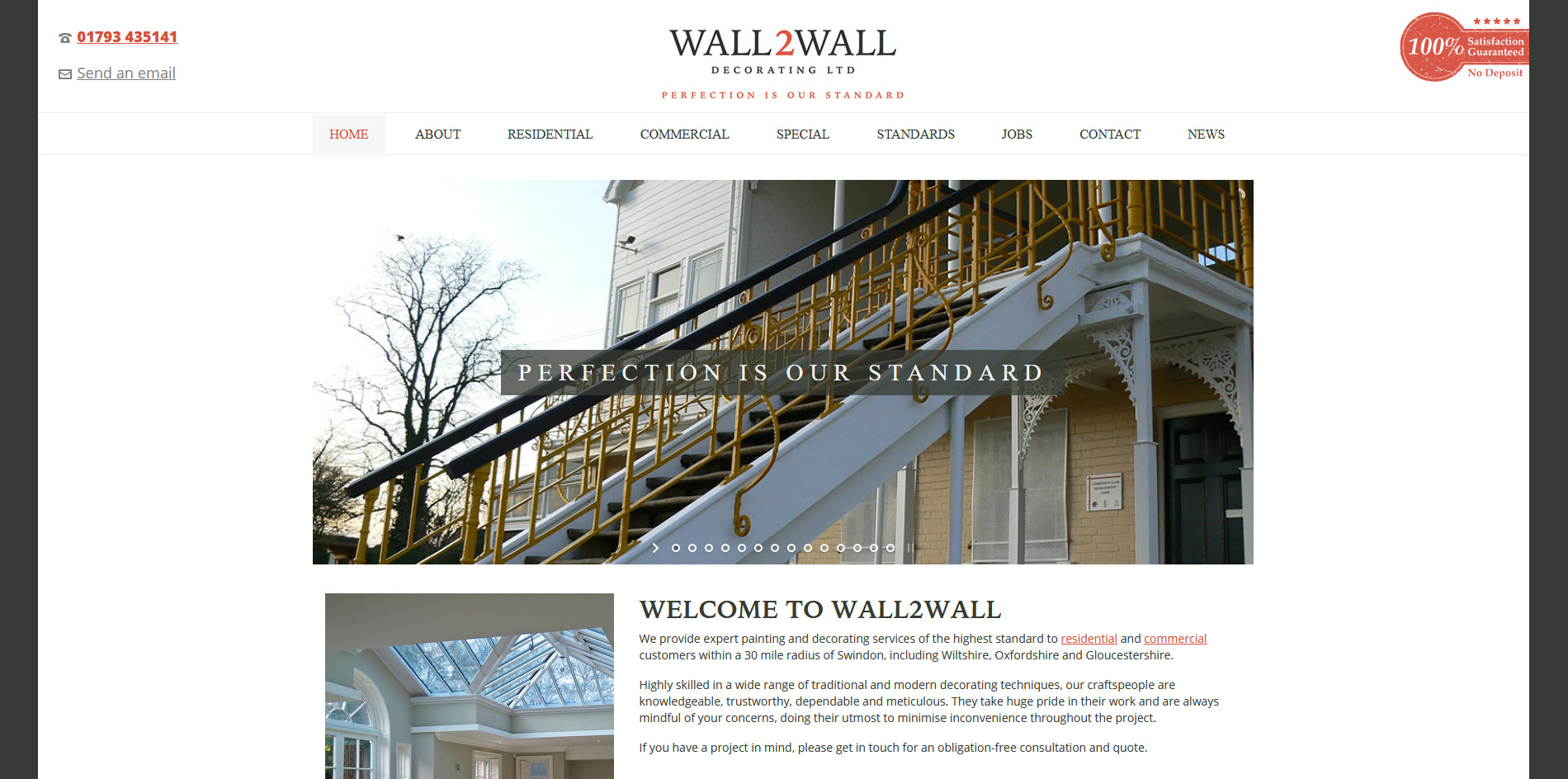 Wall 2 Wall Decorating Website